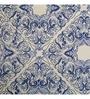Maspar Blue 100% Cotton Queen Size Duvet Cover - Set of 3
