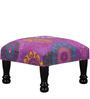 Dirgha Stool in Violet Color by Mudramark