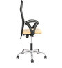 Maxio High Back Office Chair in Black & Beige Colour by The Furniture Store