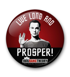 MC SID RAZZ Multicolour Iron Official The Big Bang Theory Live Long Fridge Magnet Licensed By Warner Bros USA