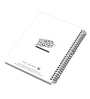MC SID RAZZ Multicolour Paper Official Friends Black Tie Notebook Licensed by Warner Bros USA