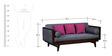 Dillon Three Seater Sofa in Passion Mahogany Finish by Woodsworth