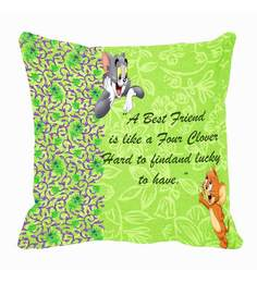 Me Sleep Best Friend (Tom & Jerry) Digitally Printed Cushion Cover