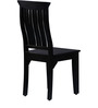 Hume Back Chair in Espresso Walnut Finish by Amberville