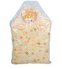 Mee Mee Baby Warm Wrapper Cum Blanket with Hood in Yellow Colour