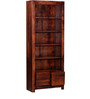 Freemont Book Shelf with Two Drawers Honey Oak Finish by Woodsworth