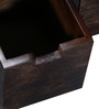 Mexico Coffee Table with Eight Drawers in Provincial Teak Finish by Woodsworth