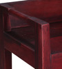 Toledo Low Height Study Table in Passion Mahogany Finish by Woodsworth