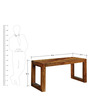 Lynden Study & Laptop Table in Natural Finish by Woodsworth
