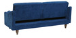 Mia Modern Twin Back Sofa Bed in Blue Colour by Furny