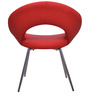 Micro Occassional Chair in Red  colour by @Home