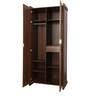 Milan Two Door Wardrobe in Walnut Finish by Royal Oak