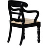 Hervey Arm Chair in Espresso Walnut Finish by Amberville