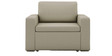 Morris One Seater Sofa Lounge in Beige Colour by ARRA