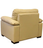 Mobil One Seater Sofa in Beige Colour by Home City