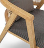 Modern Chair with Blue Cushion by FurnitureTech