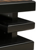 Modern Coffee Table with Walnut Finish by WADIA