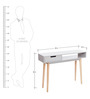 Modern Color Block Console Table by AfyDecor