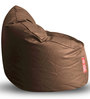 Modern Mooda Rocker XXXL size in Chocolate Brown Color Colour with Beans by Style Homez