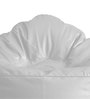 Modern Mooda Rocker XXXL size in Elegant White Color with Beans by Style Homez
