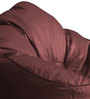 Modern Mooda Rocker XXXL size in Maroon Color Colour with Beans by Style Homez