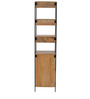 Modular Solid Wood Bookshelf in Natural Finish by TheArmchair