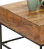 Modular Solid Wood Coffee Table in Natural Finish by TheArmchair