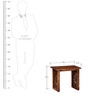 Enumclaw End table in Provincial Teak Finish by Woodsworth
