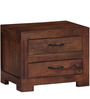 Dover Bed Side Table in Provincial Teak Finish by Woodsworth