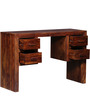 Ontario Study & Laptop Table in Honey Oak Finish by Woodsworth