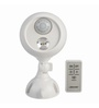 Mr. Beams MB370 Wireless LED Remote Control Spotlight with Motion Sensor and Photocell 140 Lumens, White