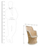 Mudda Chair in Muti Colour by Shinexus