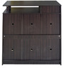Multipurpose Storage File Cabinet in Wenge Colour by Eros