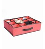 My Gift Booth Non-Woven Black Foldable Lingerie Clothes Organiser