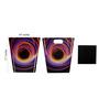 My Own Black Hole Engineered Wood 1 L Multicolour DIY Dustbin