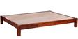 Nashville King Size Bed in Honey Oak Finish by Woodsworth