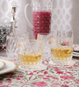 Nachtmann Mirage 365 ML Lead Crystal Whisky Tumblers - Set  of 6