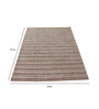 Nadherny Area Rug 91 x 63 Inch in Grey by Amberville