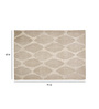 Nailer Area Rug 91 x 63 Inch in Ivory & Grey by Amberville