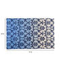 Nakai Area Rug 91 x 63 Inch in Blue & Ivory by Amberville