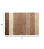 Nakamura Area Rug 91 x 63 Inch in Brown by Amberville