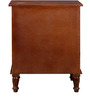 Bocconi Chest of Drawers in Honey Oak Finish by Amberville