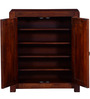 Dover Solid Wood Shoe Rack in Honey Oak Finish by Woodsworth
