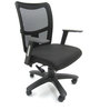 Naveda Ergonomic Chair in Black Colour by Chromecraft