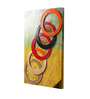 NB Home Interior Industry Multicolour MDF & Mango Wood Round Ring Wall Panel