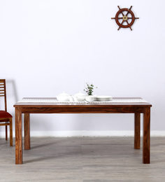 Newport Dining Table In Warm Walnut Finish By Woodsworth