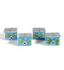 Neerja Pottery Multicolour Ceramic Mini Box