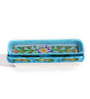 Neerja Ceramic Blue Pen & Pencil Holder - Set of 2