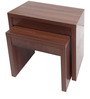 Set of Tables in Acaia Brown by Urban Influence