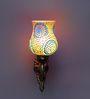 Adhisthan Downward Wall Mounted in Antique Gold by Mudramark